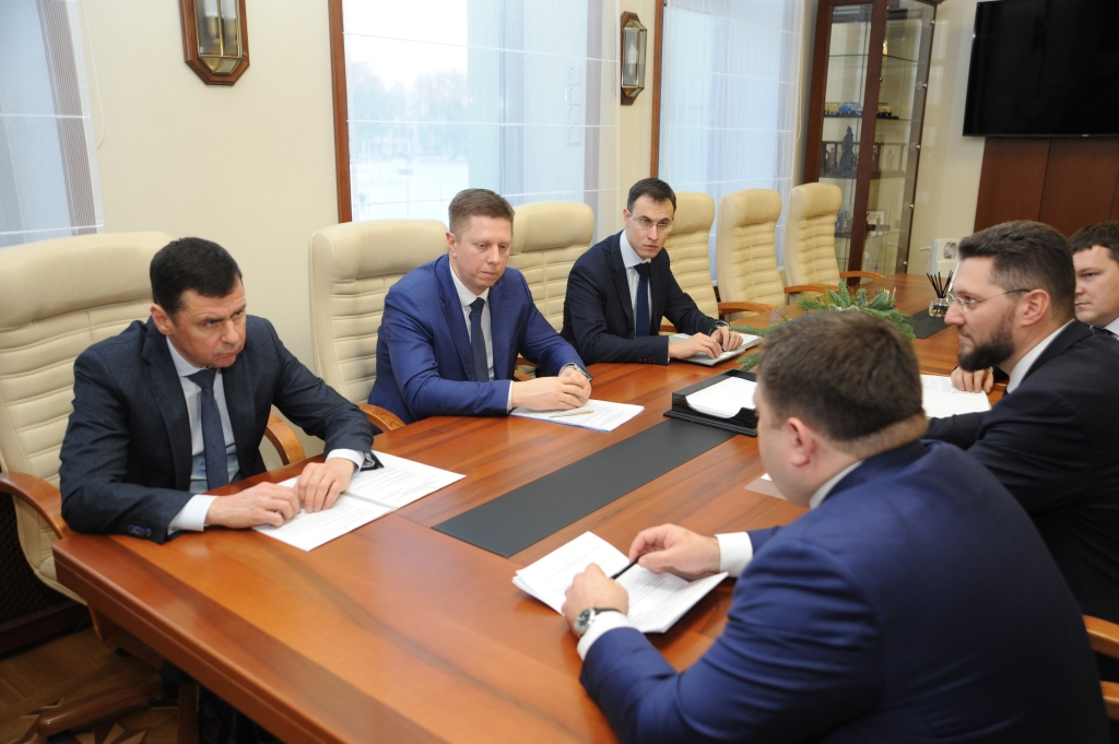 Дмитрий Миронов обсудил с руководителем Промсвязьбанка вопросы поддержки предприятий