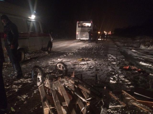 В Ярославской области рейсовый автобус сбил мужчину