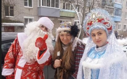 Ярославец стал Дедом Морозом для 40 семей