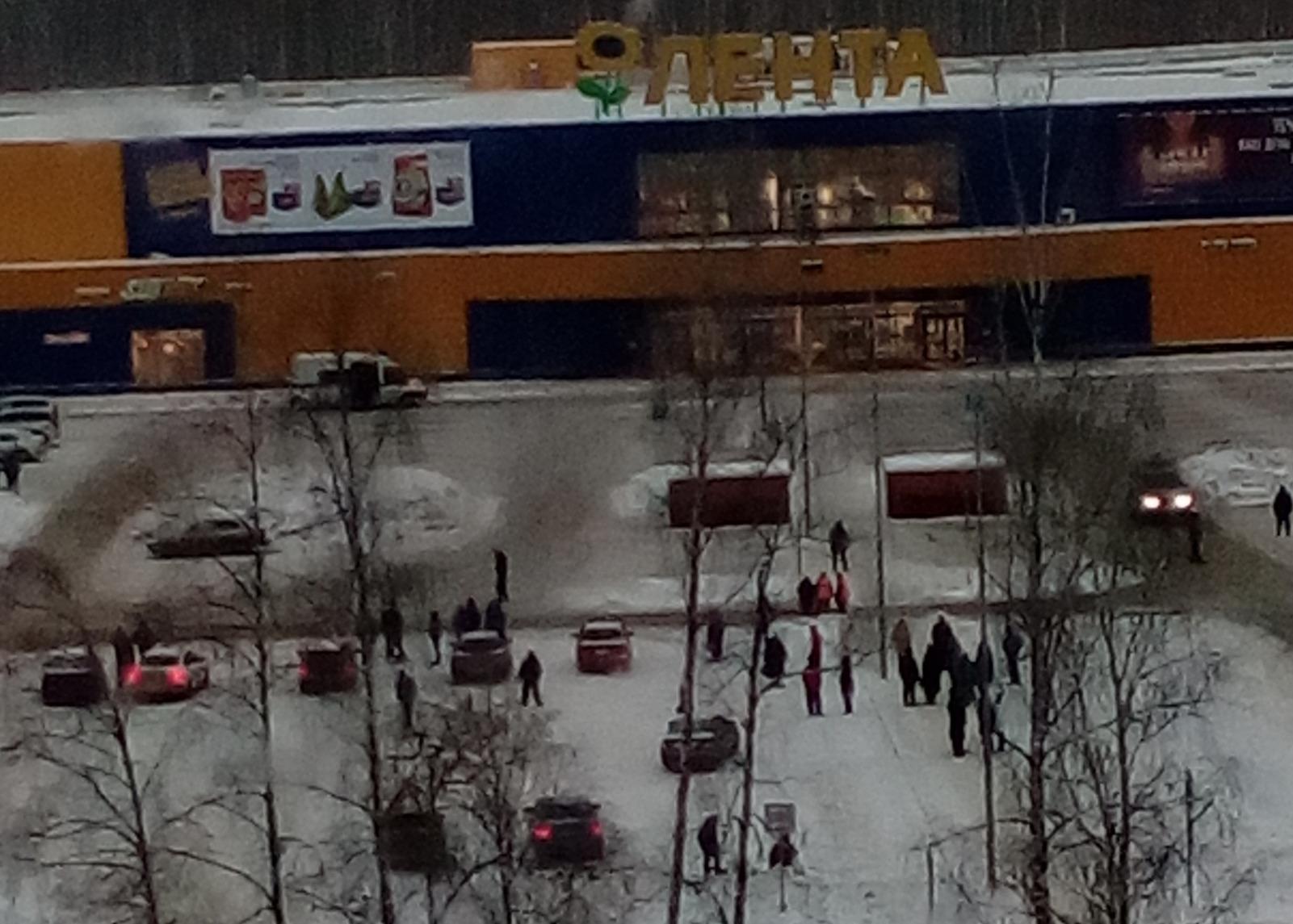 В Ярославле эвакуировали гипермаркет