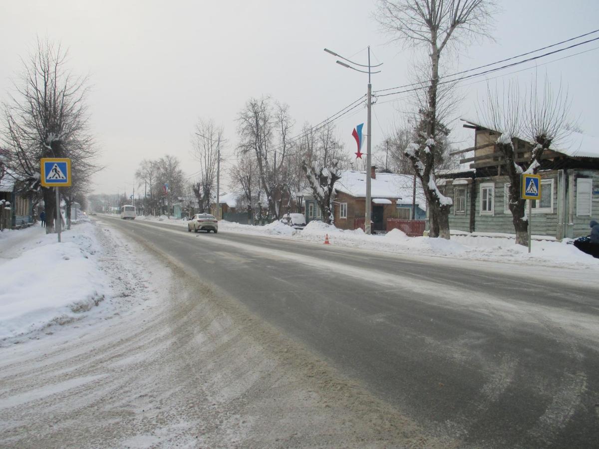 В Ярославской области легковушка сбила женщину-пешехода