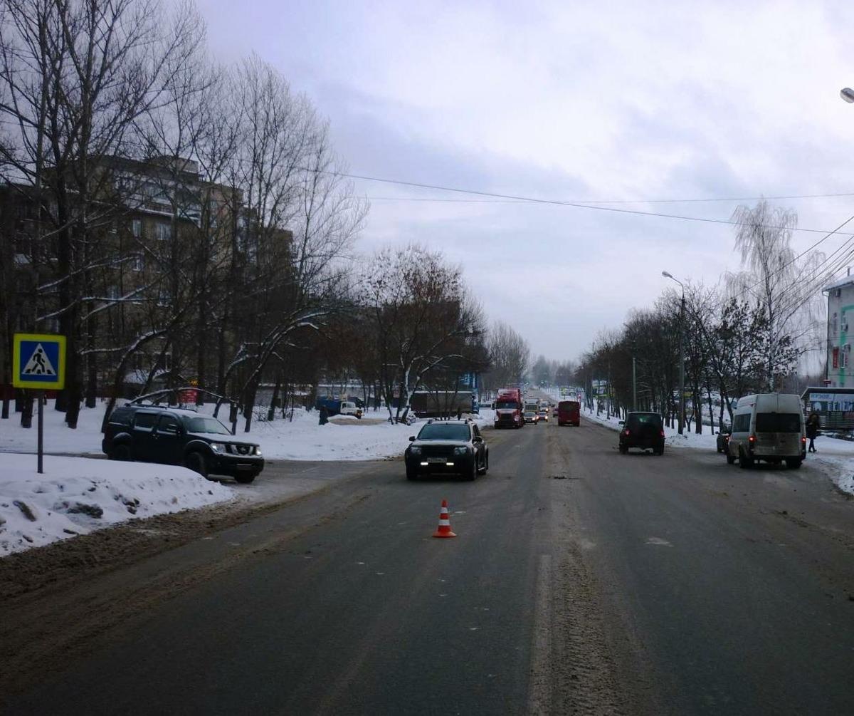 В Ярославле иномарка сбила женщину