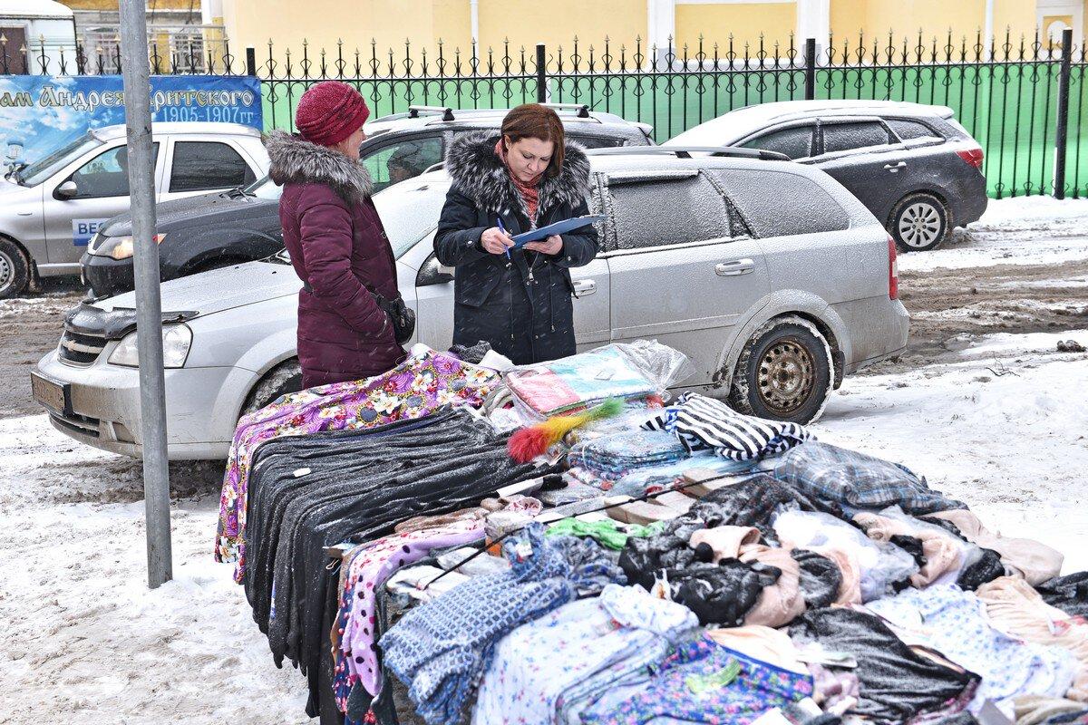 В Ярославле разгоняют уличных торговцев