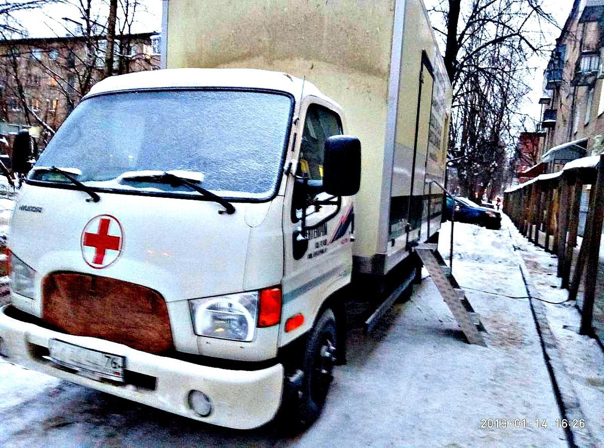 В Ярославле у частной клиники из-за ошибки врача арестовали рентгенологический автомобиль