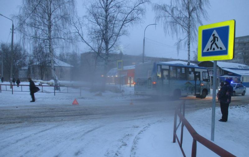 В Рыбинске автобус сбил пенсионерку на «зебре»