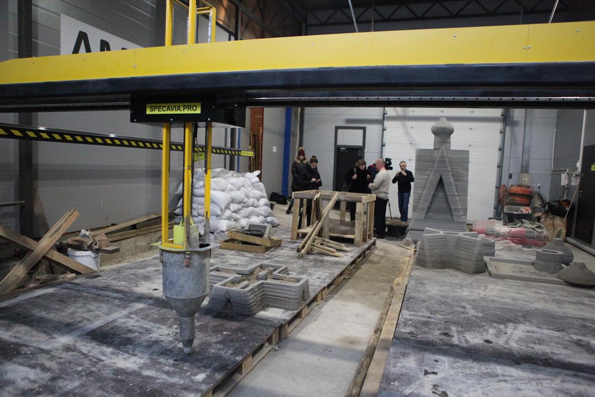 Ярославцы стали первыми в мире по печати объектов на строительном 3D-принтере