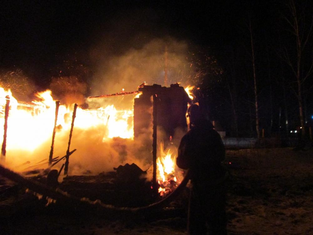 В Ярославской области на пожаре пострадали два человека