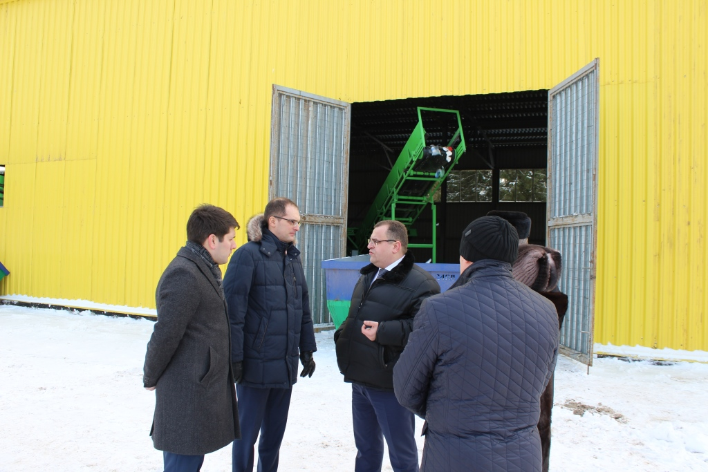 На полигоне в Ярославской области построен мусоросортировочный комплекс