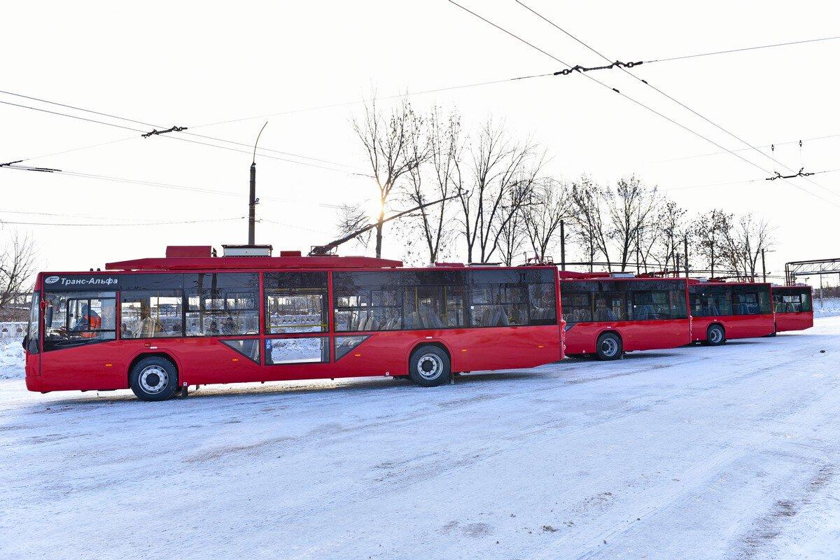 В Ярославле приобрели новые троллейбусы с Wi-Fi