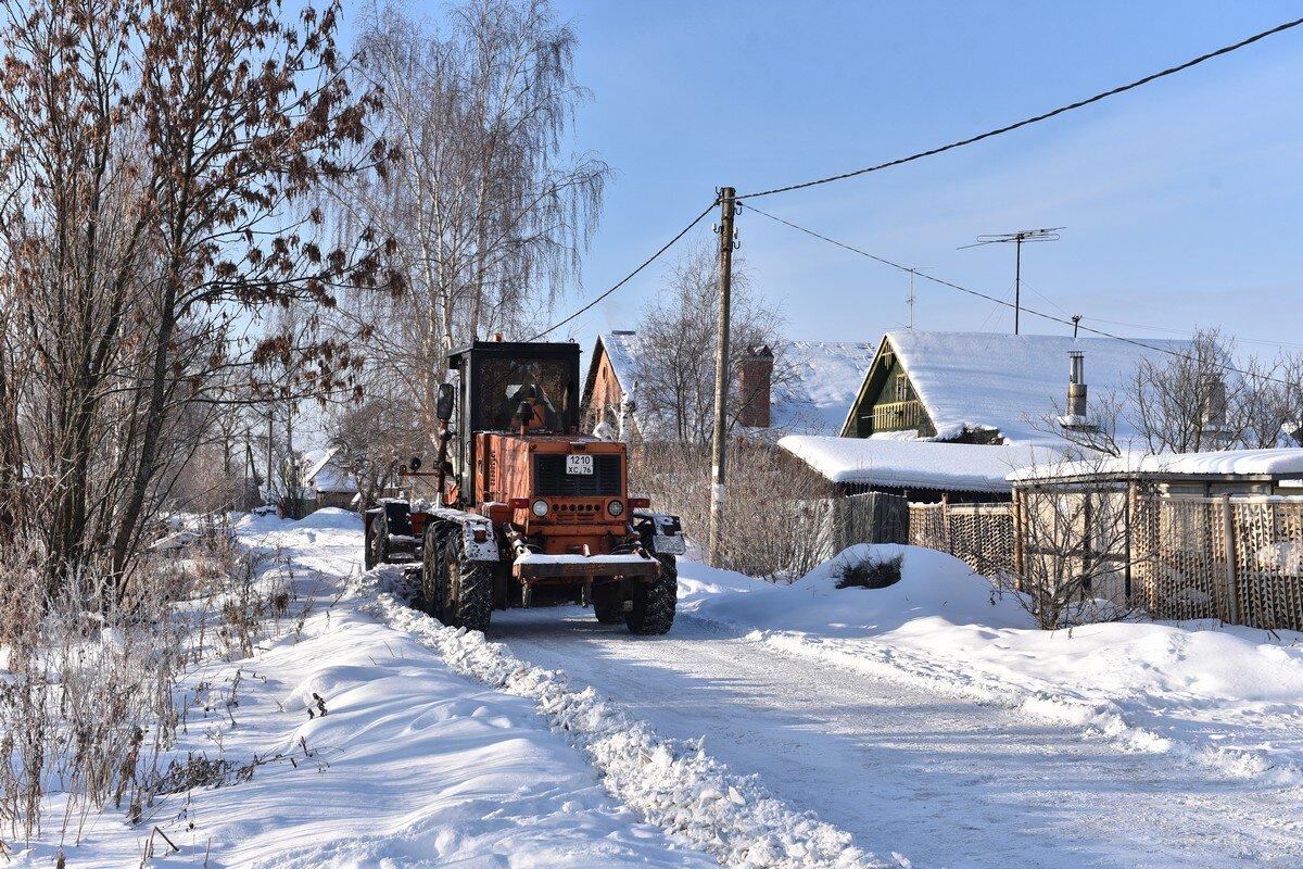 В Ярославле жители частного сектора недовольны уборкой улиц