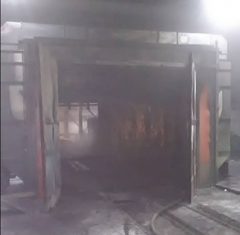 На ярославском предприятии произошел пожар