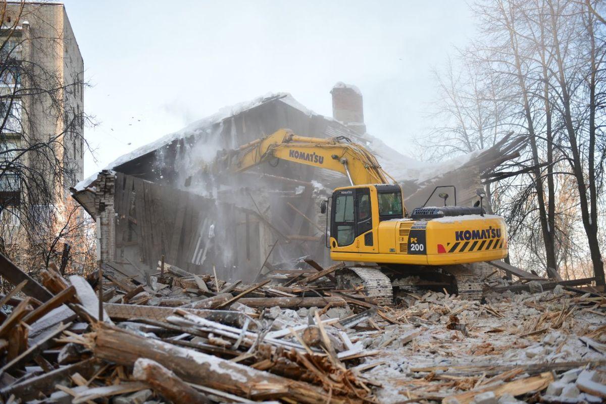 В Ярославле планируют снести 21 ветхий дом и аварийные здания завода СК «Премьер»