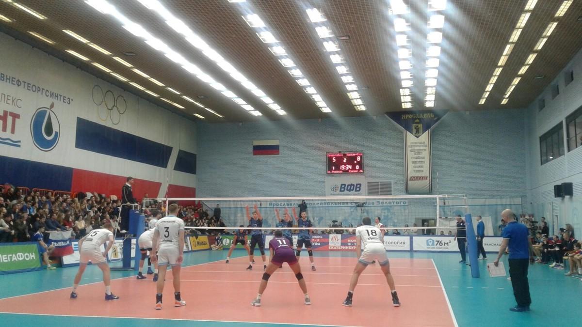 «Ярославич» смог выиграть одну партию у казанского «Зенита»