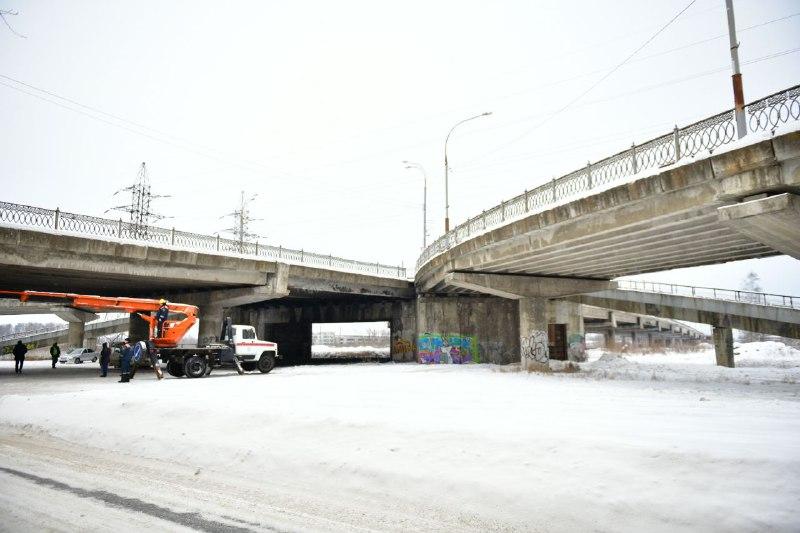 Началась подготовка к реконструкции Добрынинского путепровода в Ярославле