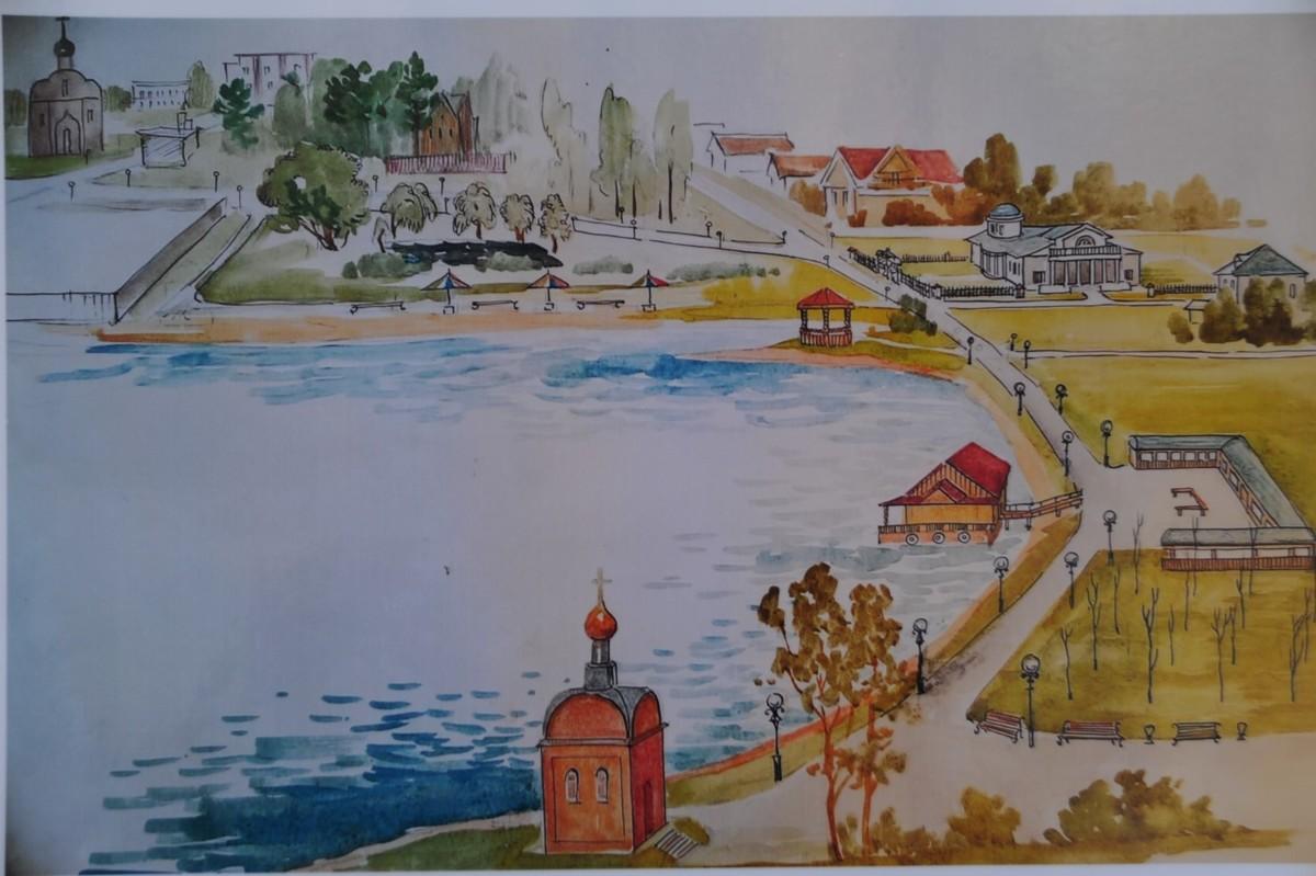 Реконструкции набережной Сити в Брейтове будет продолжена в этом году
