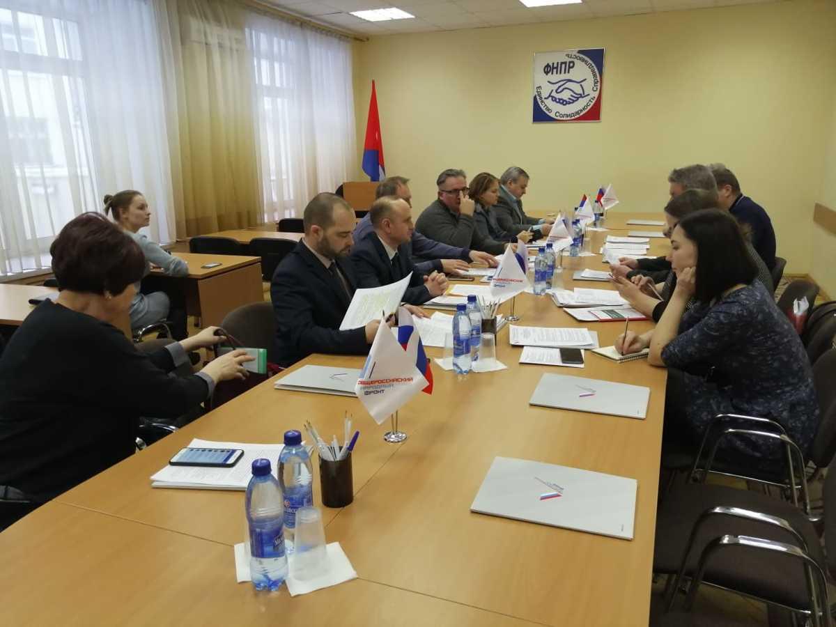 Представители ОНФ и органов власти обсудили важность внедрения системы раздельного сбора мусора