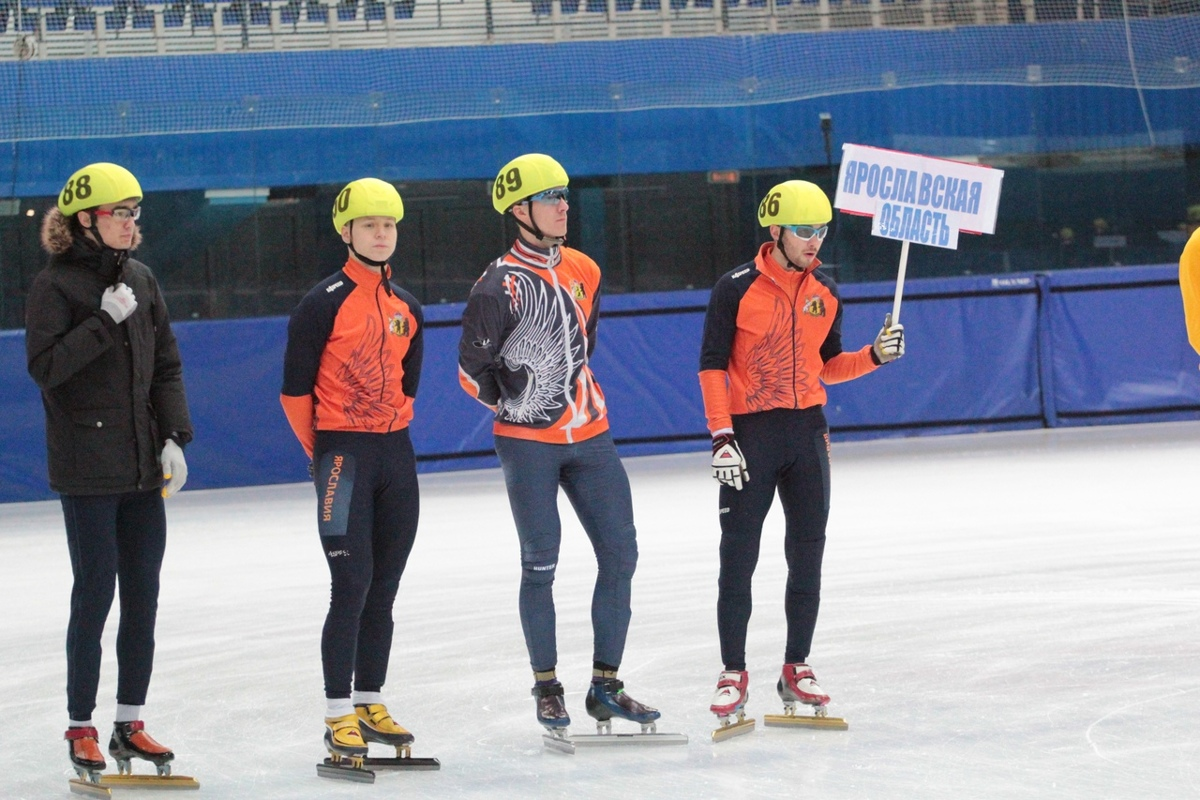 В Рыбинске стартовал финал Кубка России по шорт-треку