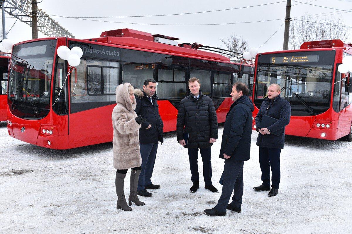 Ярославль приобрел семь новых троллейбусов