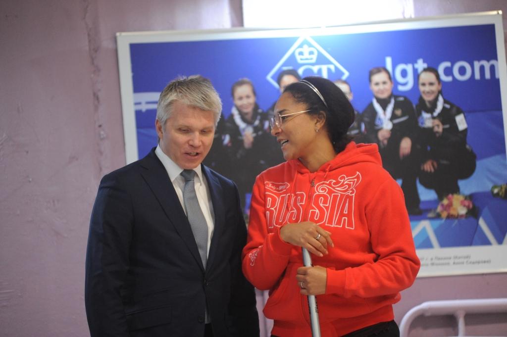 В Ярославле открылась спортивная секция по керлингу