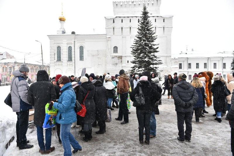 В Ярославле прошел праздник в честь Года театра в России