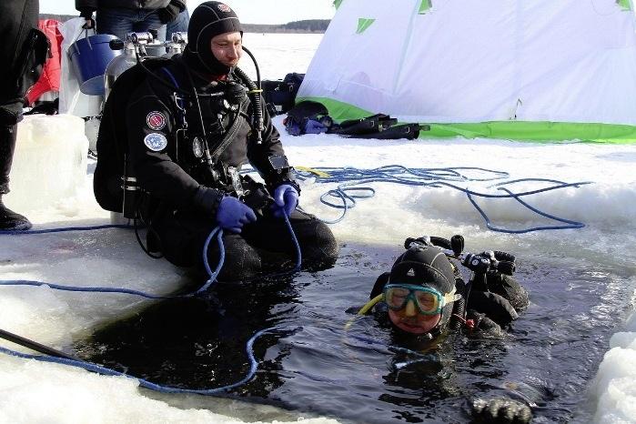 На Рыбинском водохранилище возобновляются подледные исследования Мологи