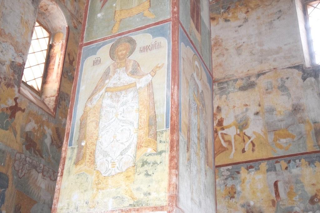 В Тутаеве завершился очередной этап реставрации Крестовоздвиженского собора