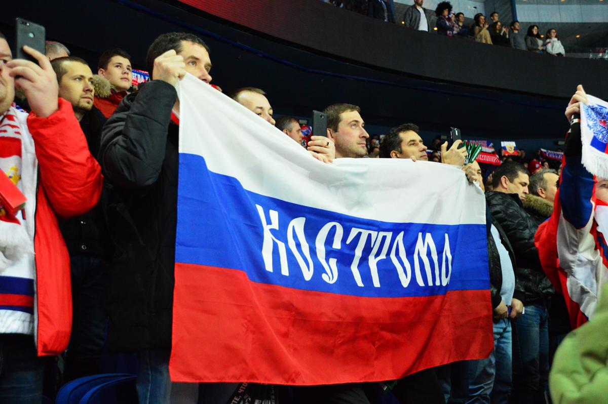 Ярославские хоккеисты помогли сборной России одержать победу над Финляндией: фото
