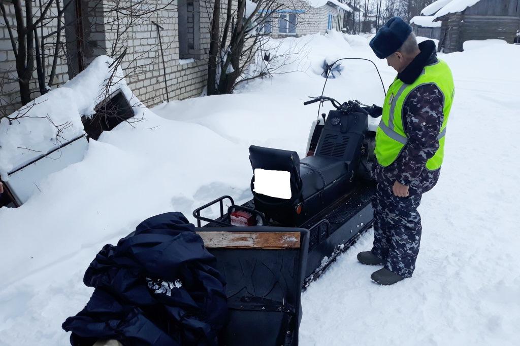 В рамках акции «Снегоход» в Ярославской области выявлено и пресечено 80 нарушений