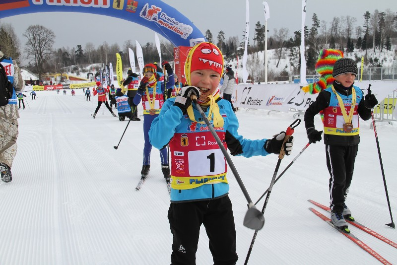 В Деминском беби-марафоне примут участие 200 маленьких лыжников