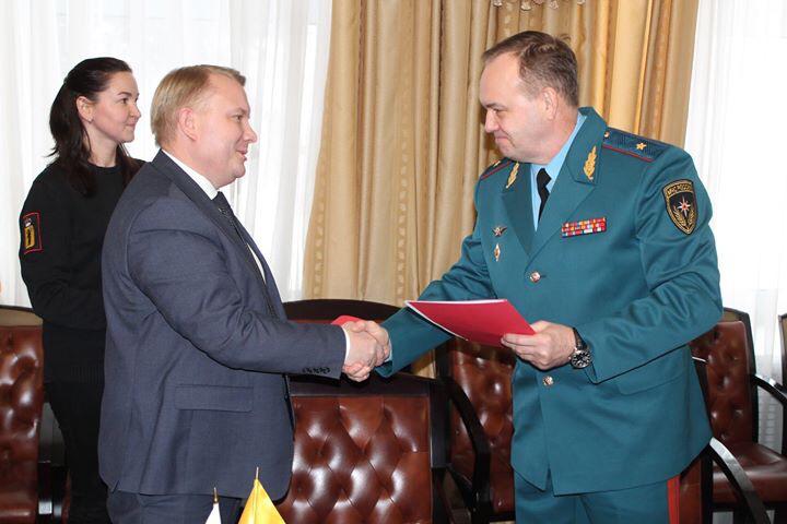 Подписано соглашение между Советом отцов и региональным управлением МЧС России