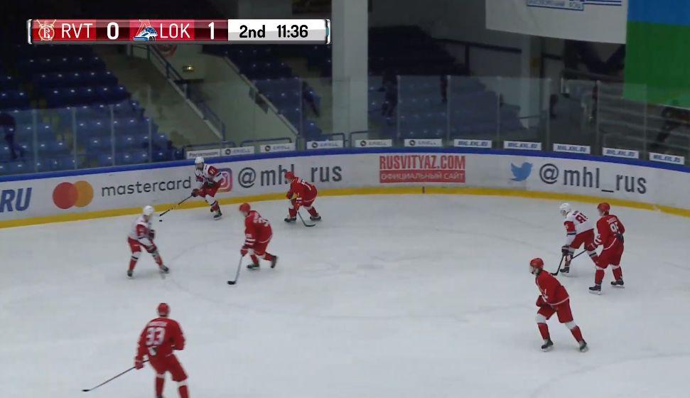 «Локо» сумел обыграть «Русских Витязей» в повторной игре
