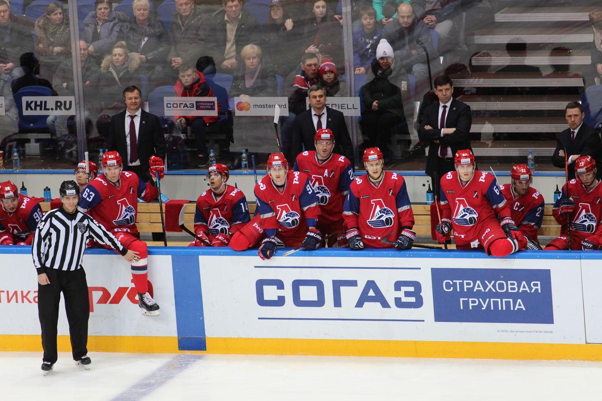 «Локомотив» обыграл «Витязь» и обеспечил себе третье место в конференции