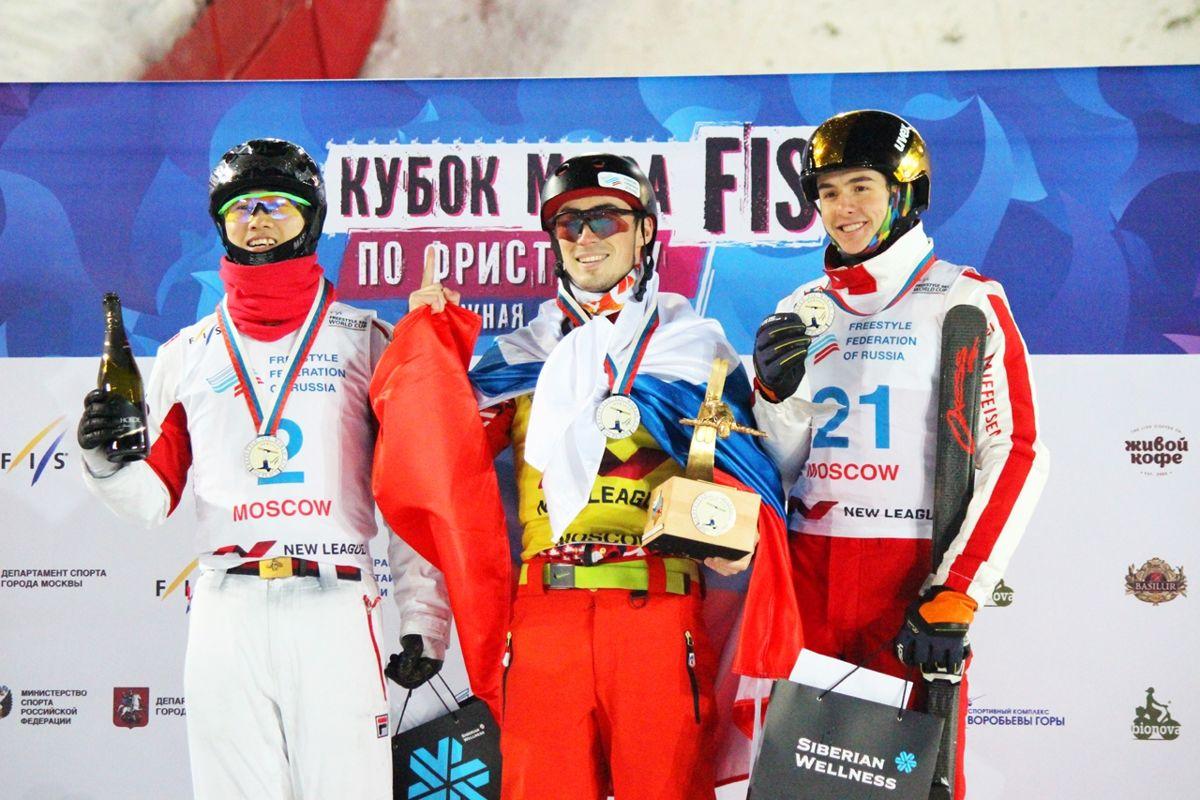 Ярославец стал победителем этапа Кубка мира по фристайлу