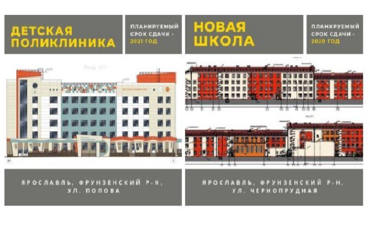 Ярославской области выделят 200 миллионов на строительство школы и поликлиники – Миронов
