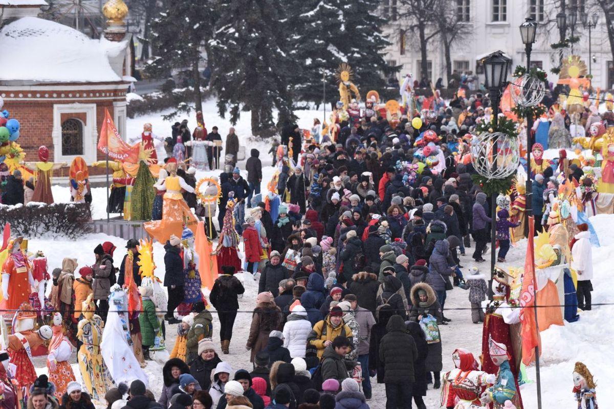 В Ярославле готовятся к масленичному карнавальному шествию