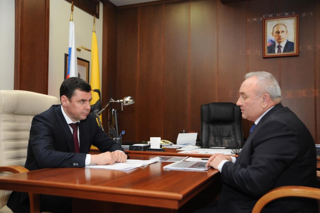 Губернатор Дмитрий Миронов встретился с управляющим директором ПАО «ОДК-Сатурн»