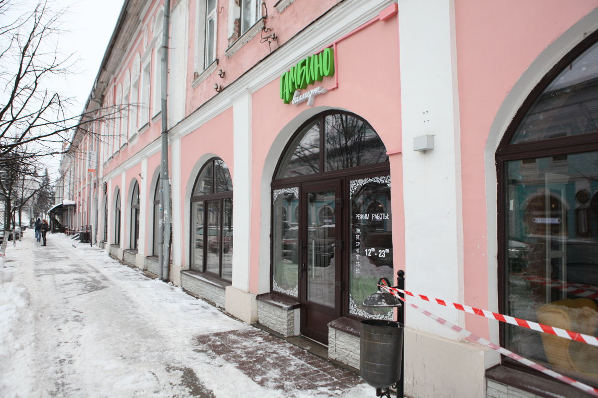 Реставраторы против рестораторов. Историческое здание в центре Ярославля требуют привести в первоначальное состояния