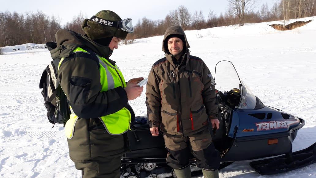 В рамках акции «Снегоход» выявлено и пресечено более 110 нарушений