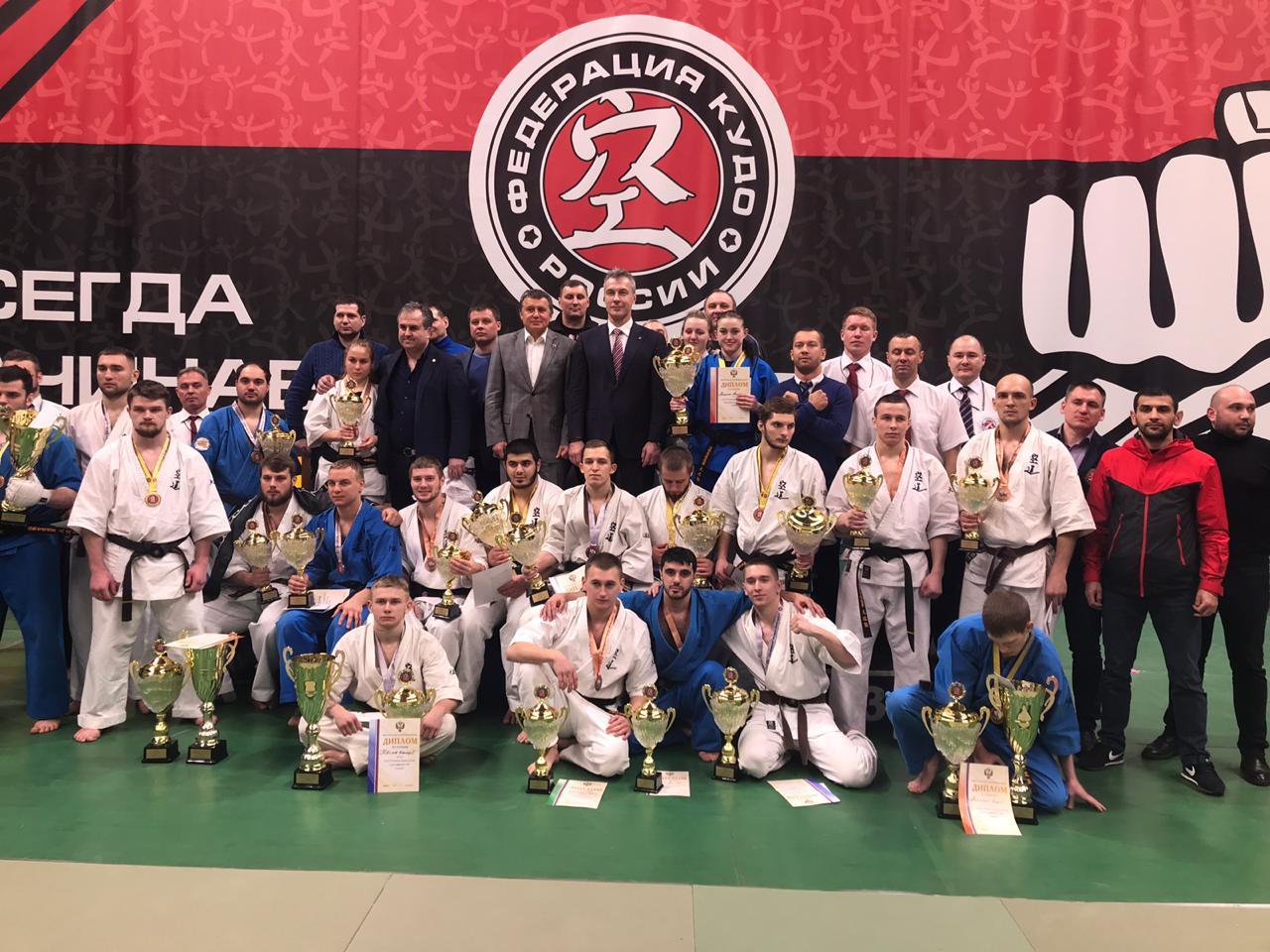 Сборная Ярославской области завоевала первое место на чемпионате России по кудо