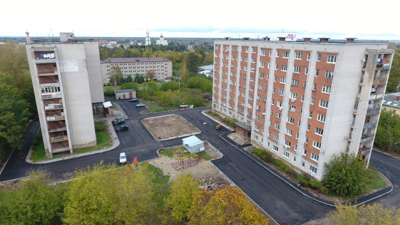 В Рыбинске в этом году благоустроят 14 дворов: адреса