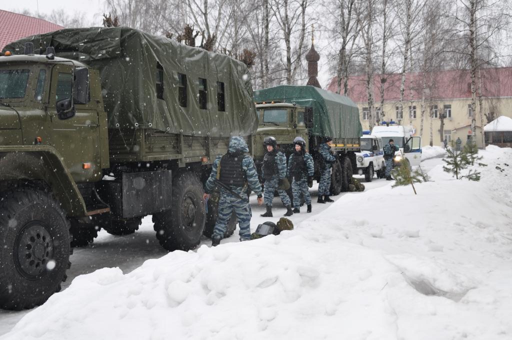 В Ярославле прошли антитеррористические учения