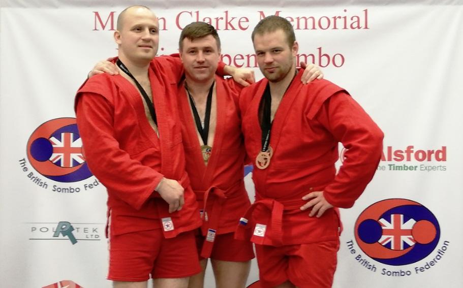 Ярославец победил на открытом чемпионате Великобритании по самбо
