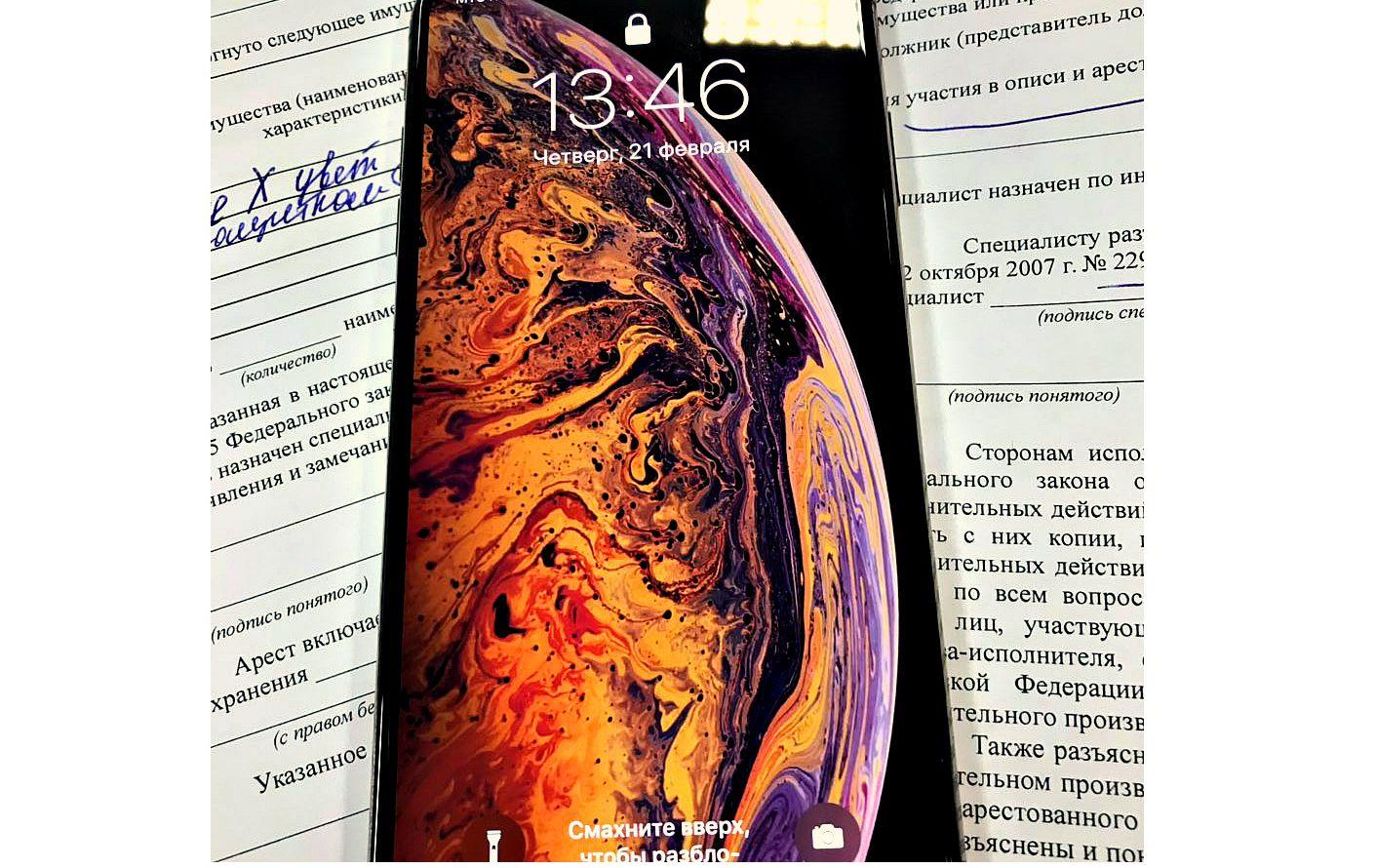 У ярославны из-за крупного долга арестовали золотой смартфон