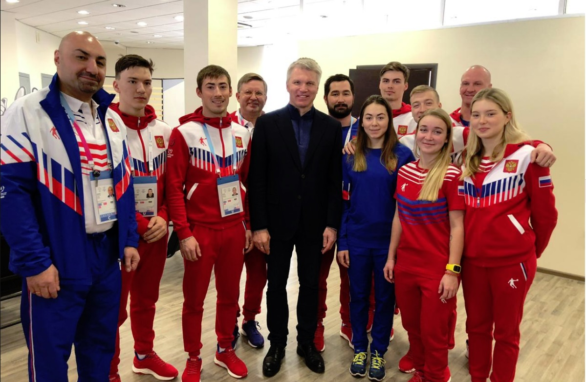 Дмитрий Миронов пожелал удачи ярославским спортсменам на Универсиаде