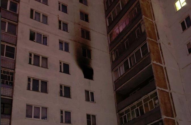Пожар в рыбинской многоэтажке оставил семью без вещей и денег