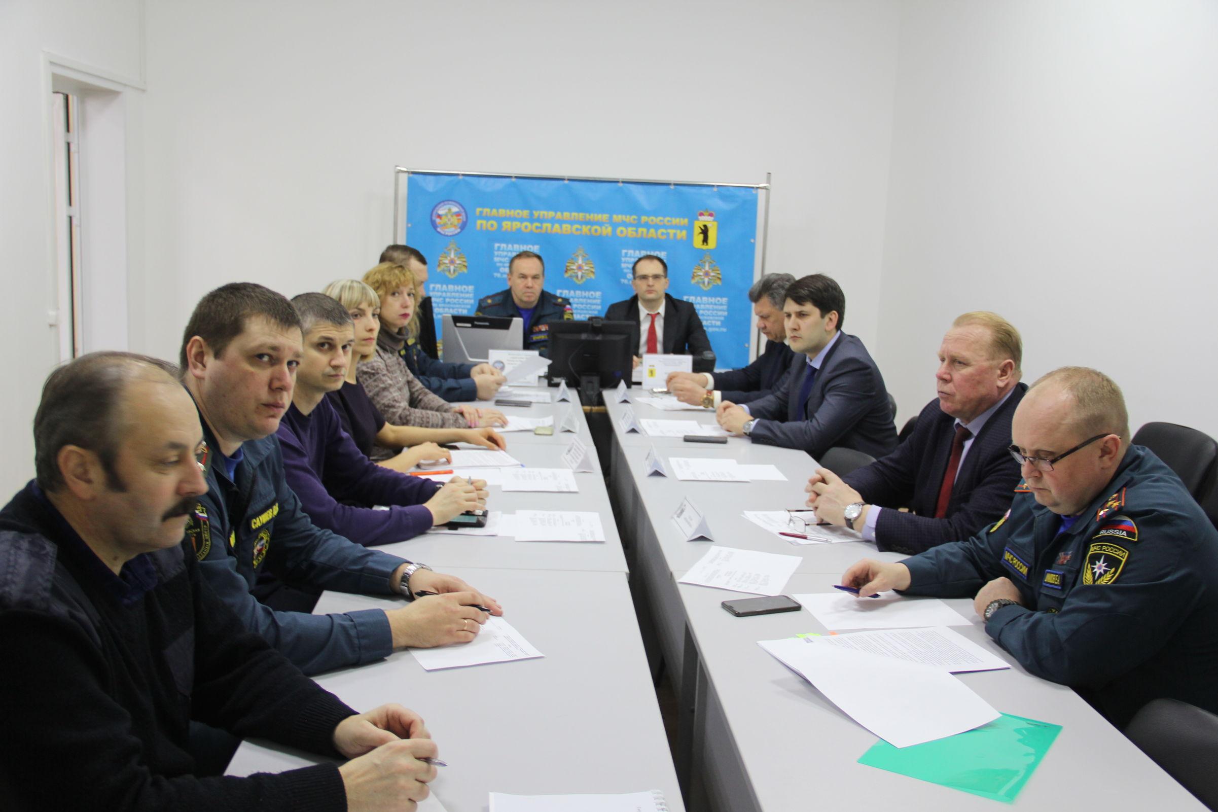 Ход подготовки к паводку в регионе обсудили на заседании Всероссийской КЧС