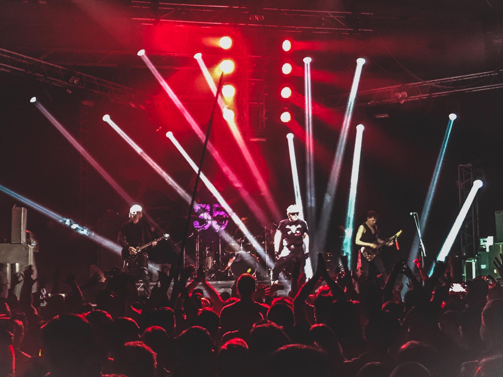 В Ярославле легендарная рок-группа «Алиса» отметила юбилей двухчасовым концертом