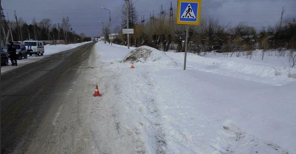 В Ярославской области подросток за рулем иномарки сбил пешехода