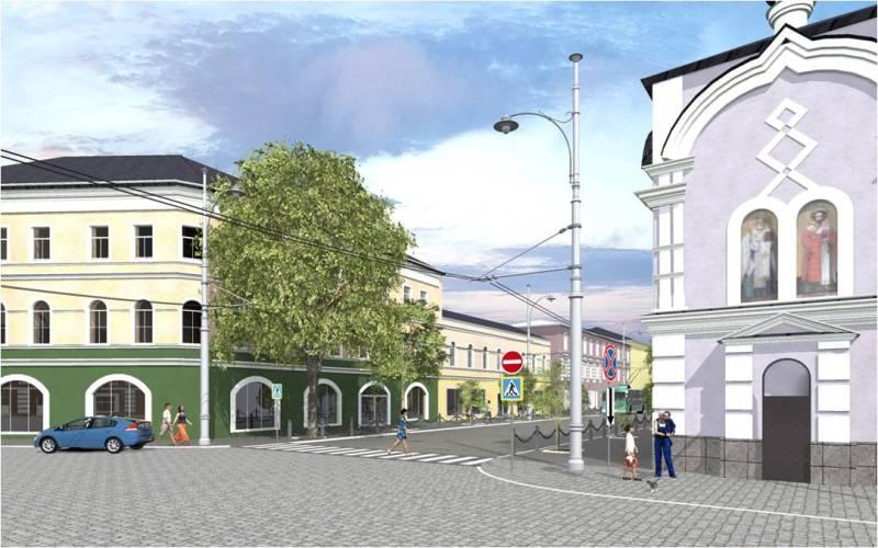 В Рыбинске благоустроят главную улицу исторического центра