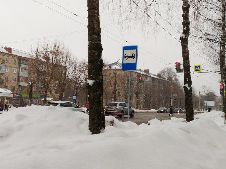 В Рыбинске переносят остановку общественного транспорта